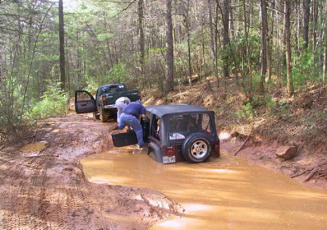 Forest Service Roads in the Chattahoochee National Forest